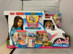 Barbie Care Clinic Vehicle Play Set NEW