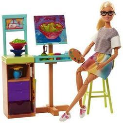 Barbie® Career Artist Studio Playset, NRFP
