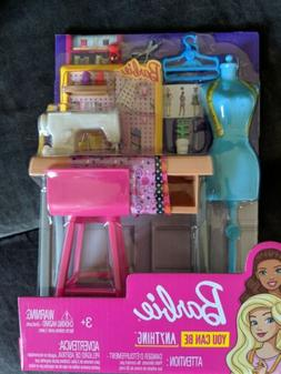 barbie career places fashion design studio play