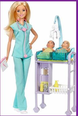 BARBIE CAREERS  ~BABY DOCTOR PLAY SET~  2018 Model by Mattel