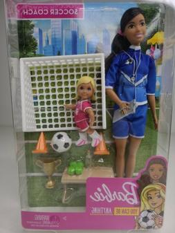 Barbie Careers You Can Be Anything Soccer Coach Play Set Mat