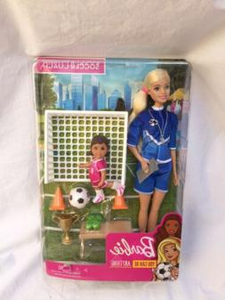 Barbie Careers You Can Be Anything Soccer Coach Play Set NEW