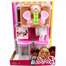 Barbie Date Night Dining Set with Kitten Doll Playset