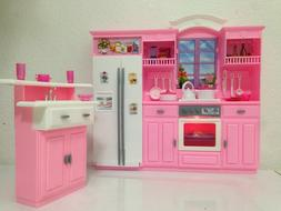 Barbie Size Dollhouse Furniture - My Fancy Life Kitchen Play
