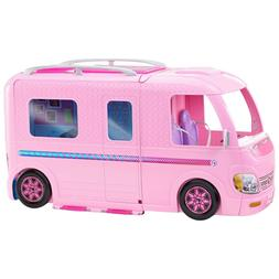 Barbie Dream Camper Adventure Camping Playset NEW DAMAGED BO