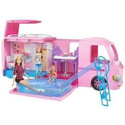Barbie Dream Camper Adventure Camping Playset with Accesorie