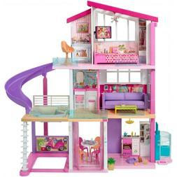 Mattel BARBIE Dream House 360 Degree Play 3 Levels NIB