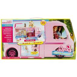 Barbie Dream Pink Camper Adventure Camping Playset Open Side