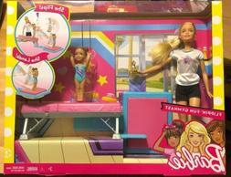 Barbie Flippin' Fun Gymnast Dolls and Playset