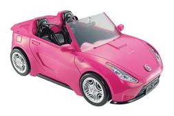 Barbie Glam Convertible Pink Car Doll 2 mattel hot Seats Shi