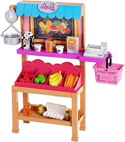 Barbie Grocery Stand Playset Doll House Furniture Accessorie