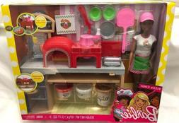 Barbie Pizza Chef Doll and Playset Brunette Girls Teens Tood