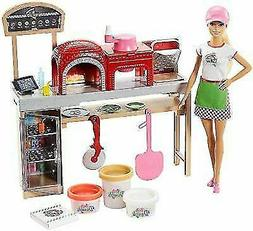Mattel Barbie Pizza Chef Doll and Playset