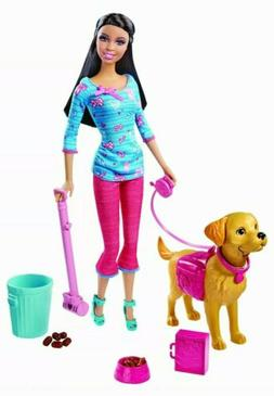 MATTEL Barbie Potty Training Taffy Fashion Doll Pet Playset