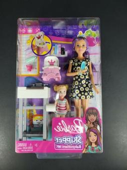 Barbie Skipper Babysitters Inc. Potty Training Doll Playset