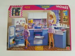 BARBIE SO REAL SO NOW KITCHEN PLAYSET BY MATTEL NEW NRFB