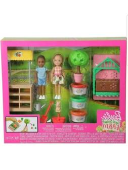 Barbie Sweet Orchard Farm Chelsea Doll & Friend, Veggie Gard