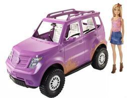 Barbie Sweet Orchard Farm SUV w/ barbie purple pink vehicle