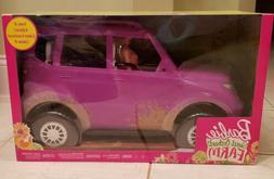Barbie Sweet Orchard Farm SUV with barbie purple pink vehicl