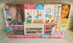 Barbie Ultimate Kitchen Lights & Sounds Interactive Playset