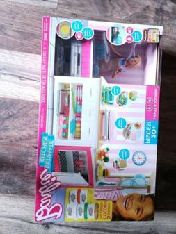 Barbie Ultimate Kitchen Play Set Baking & Cooking w/ Chef Do