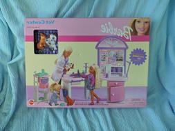 Barbie Vet Center Veterinarian Playset New NIB Mattel 2001