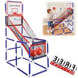 Basketball Game Indoor Hoop Player Play Set Game Portable Ki