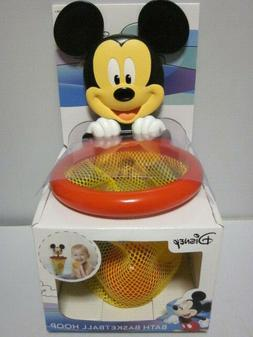 DISNEY BATH BASKETBALL HOOP WITH 3 BALLS - AGE 6 MONTHS AND