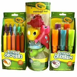 Crayola Bath Time Fun Bundle Including Bathtub Markers, Bath