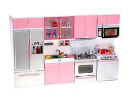 PowerTRC Kids Battery Operated Modern Kitchen Playset Great