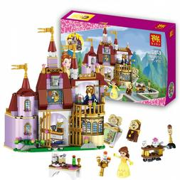 Beauty And The Beast Castle Blocks Princess Bell Enchanted T