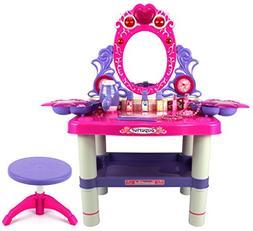 Velocity Toys Beauty Queen Dresser Pretend Play Battery Oper