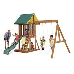 KidKraft Big Backyard Appleton Wooden Swing Set