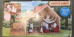 big boxed set -Calico Critters Lakeside Lodge - New! Factory