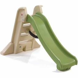 Step2 Naturally Playful Big Folding Slide, Green and Tan Han