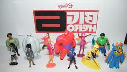 Disney Big Hero 6 Figure Set of 12 with Hiro, Baymax, Fred a