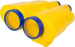 Swing Set Stuff Binoculars with SSS Logo Sticker, Yellow