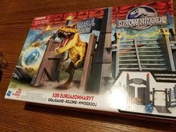 Hasbro Brand New - Jurassic World Tyrannosaurus Rex Lockdown