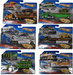 Brand New!! Mattel Hot Wheels Trucks with Vehicles