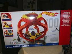 BRAND NEW Hot Wheels Throwback Fireball Crash Playset - Oran