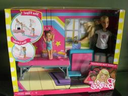 Brand New Barbie Toddler Flippin' Fun Gymnast Doll Play Set