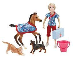 Breyer Classics Day at The Vet Doll & Animals Set  by Breyer