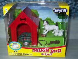 BREYER DOG HOUSE PLAY SET  #1508 JACK RUSSELL TERRIOR/DOG HO
