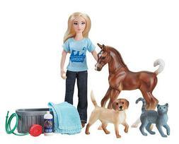 Breyer Horses Classics Size Pet Groomer Play Set #62029 Doll