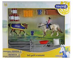 Breyer Horses Stablemates Size Western Horse & Rider Play Se