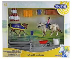 Breyer Stabemates Western Horse Play Set New