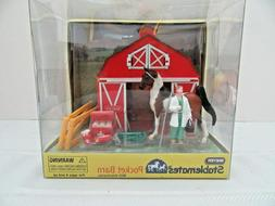 Breyer Stablemate Pocket Barn with Veterinarian Set ~  # 591
