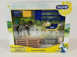 Breyer Stablemates - English Play Set - no. 6027 - 1:32 Scal