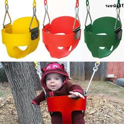 Bucket Swing for Toddler Seat Set Playground Outdoors Play W