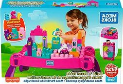 Mega Bloks Build 'N Learn Table, Pink